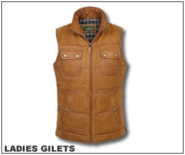 Link to Ladies Gilets page