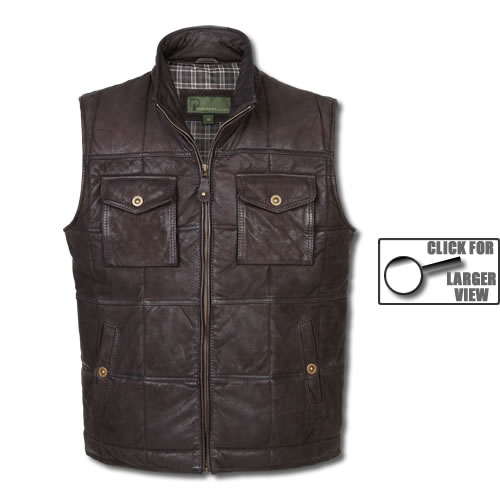 Gents Leather Gilet...